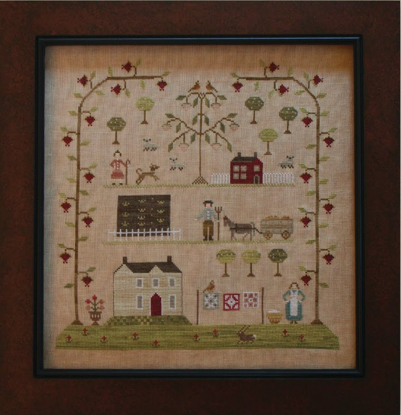 Clearance With Thy Needle CTS084 Sampler Of The Season Spring
