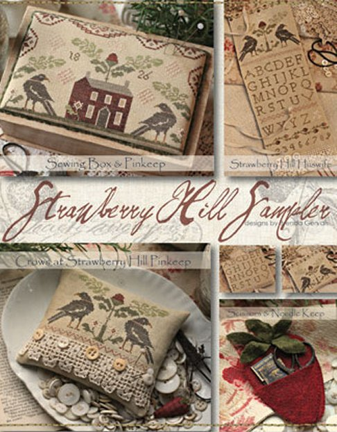Clearance With Thy Needle CTS089 Strawberry Hill Sampler