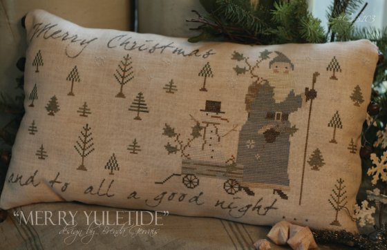 Clearance With Thy Needle CTS103 Merry Yuletide