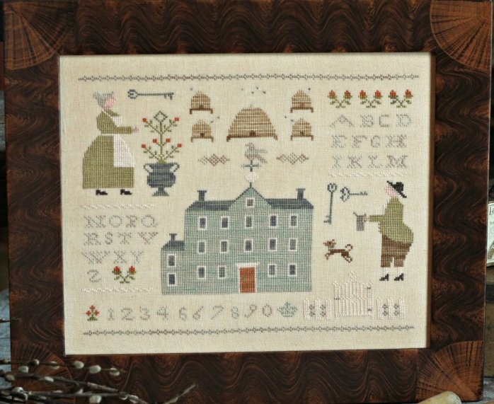 Clearance With Thy Needle CTS110 The Bee Keepers Sampler