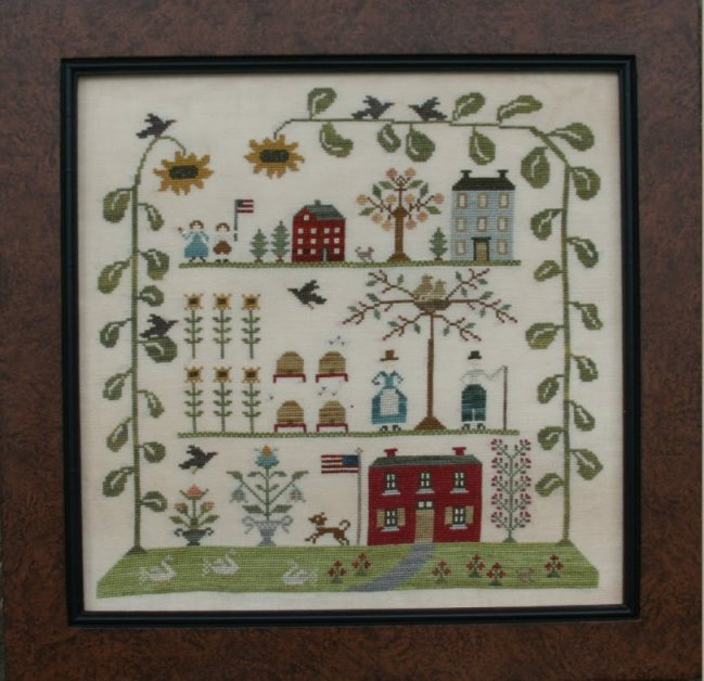 Clearance With Thy Needle CTS116 Sampler Of The Season Summer