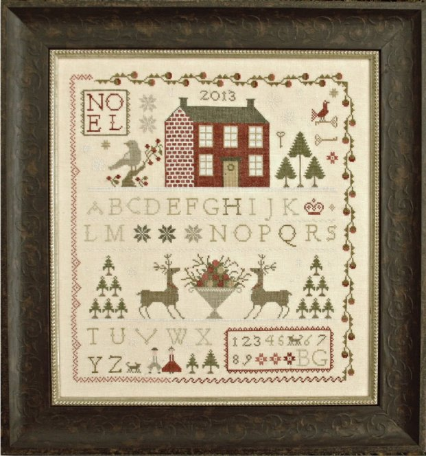 Clearance With Thy Needle CTS119 Noel Sampler