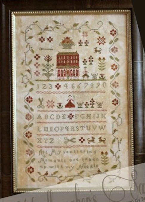 Clearance With Thy Needle CTS124 Needleworkers Sampler