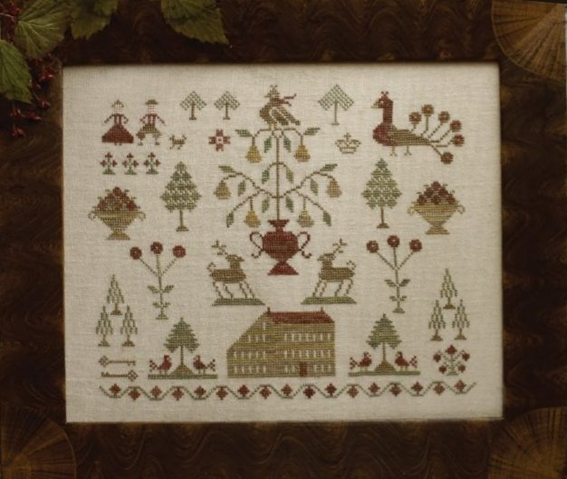 Clearance With Thy Needle CTS125 Cozy In The Pines Sampler