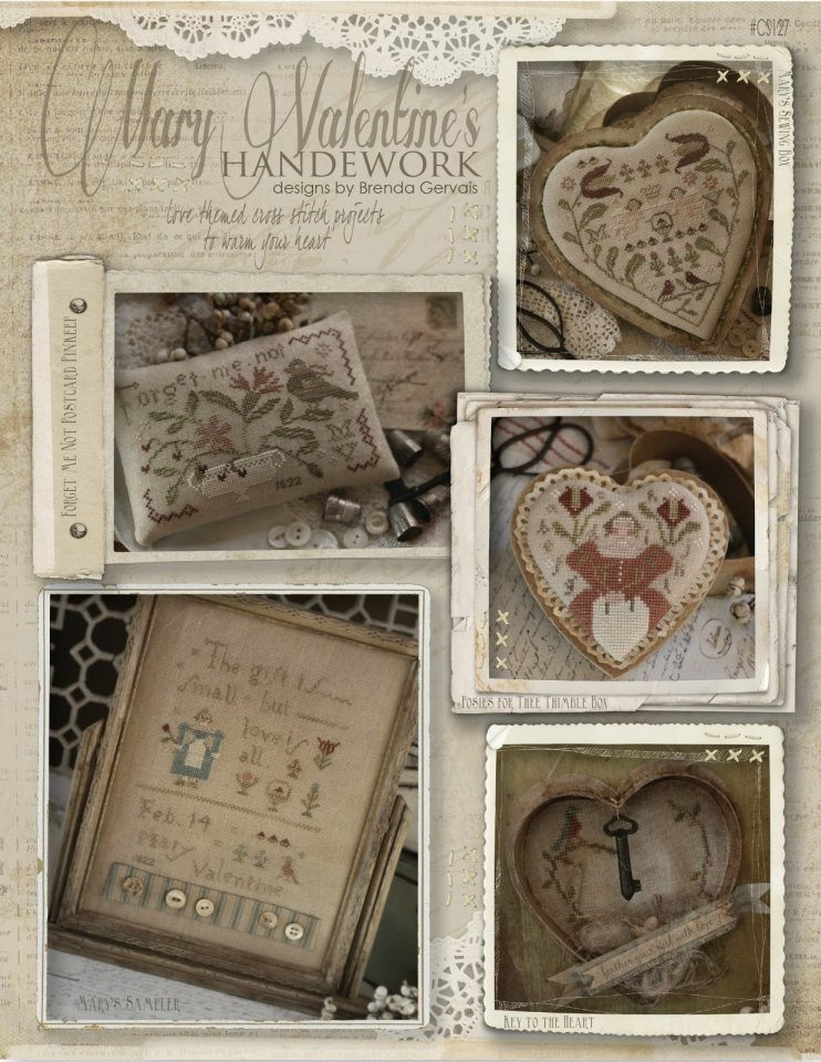 Clearance With Thy Needle CTS127 Mary Valentines Handework