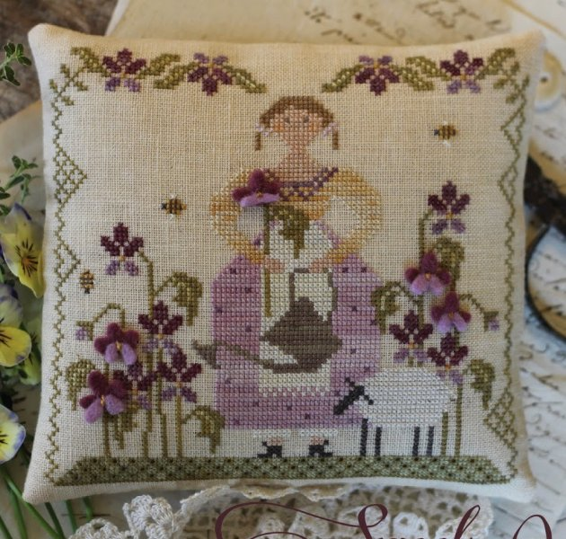 Clearance With Thy Needle CTS132 Sweet Violet