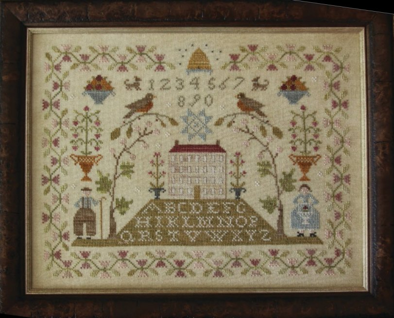 Clearance With Thy Needle CTS135 Sampler Hill