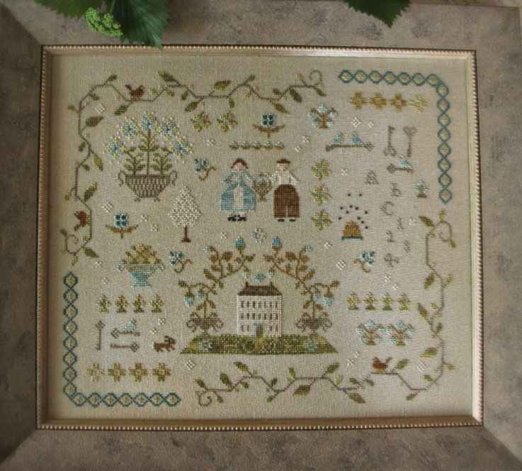 Clearance With Thy Needle CTS136 Heart Of The Home Sampler