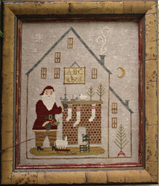 Clearance With Thy Needle CTS145 Christmas Cottage