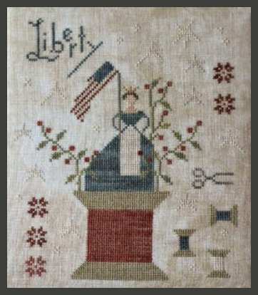 Clearance With Thy Needle CTS164 Grand Olde Flag