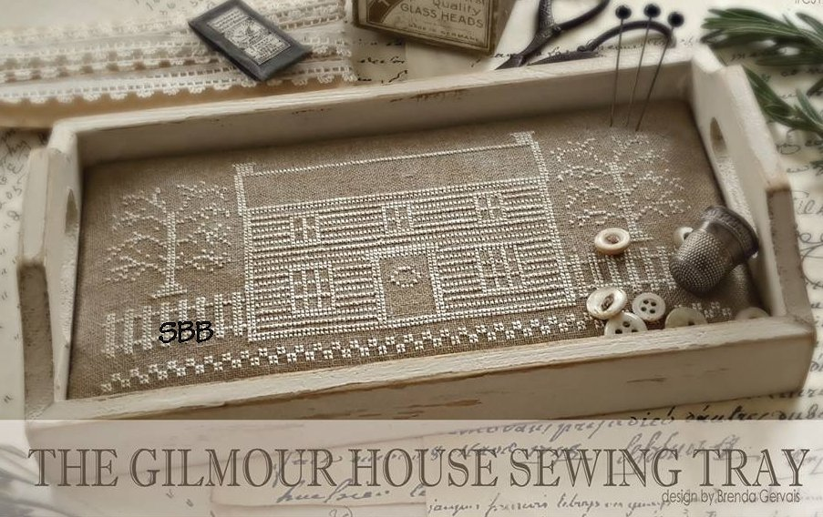 Clearance With Thy Needle CTS179 The Gilmore House Sewing Tray