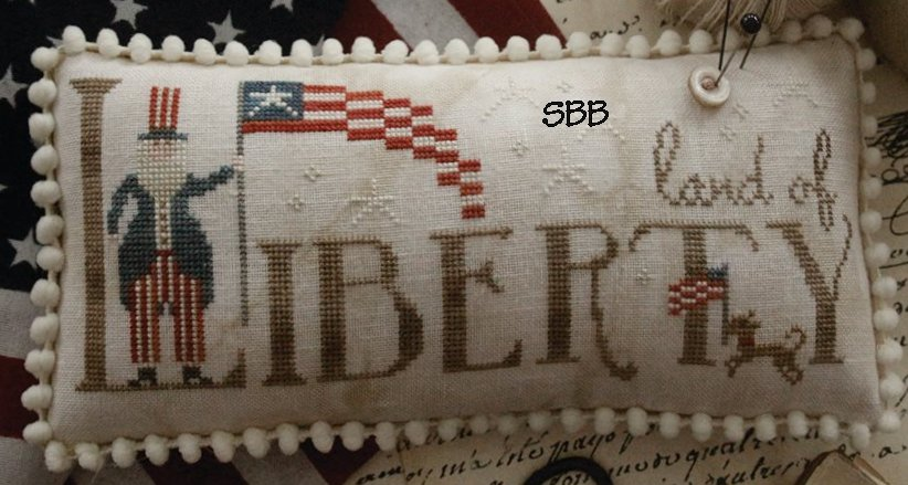 Clearance With Thy Needle CTS183 Land Of Liberty