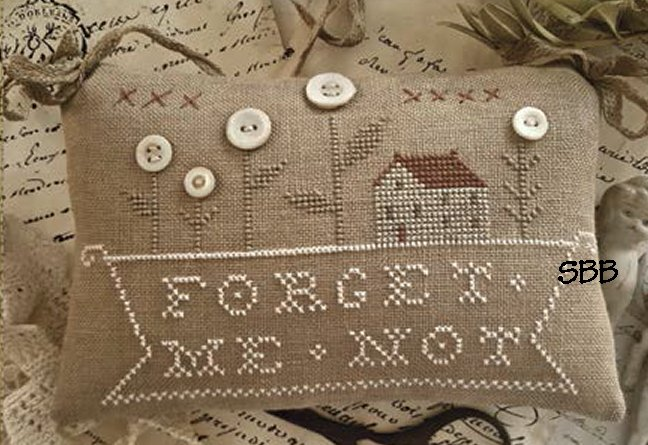 Clearance With Thy Needle CTS184 Forget Me Not