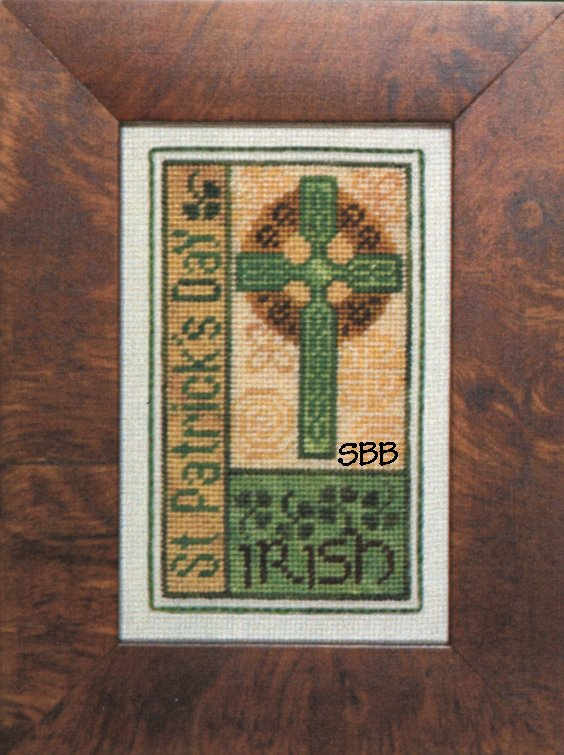 Erica Michaels Clearance St Patricks Bits With Silk Gauze