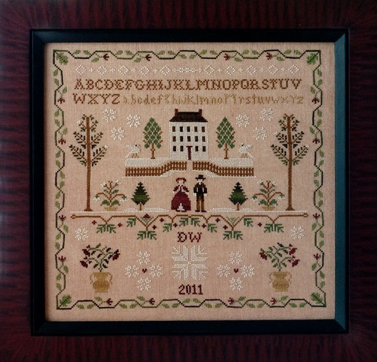Little House Needleworks Clearance New England Winter Sampler