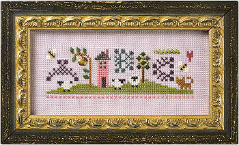 Lizzie*Kate Clearance Flora Mc Sample Stitch Lesson Sampler