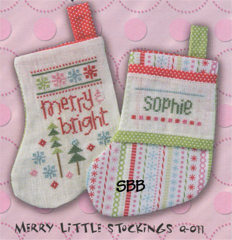 Lizzie*Kate Clearance  Merry Little Stockings