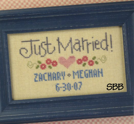 Lizzie*Kate Clearance S71 Just Married