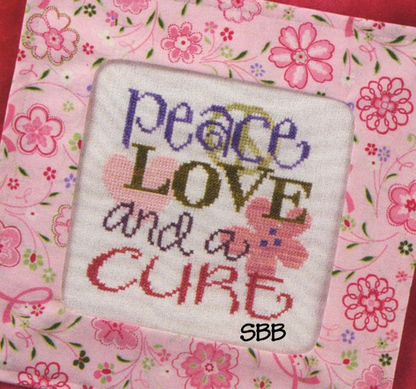 Lizzie*Kate Clearance S79 Peace Love And A Cure