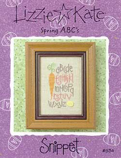 Lizzie*Kate Clearance  Spring ABCs