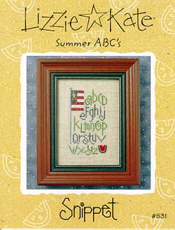 Lizzie*Kate Clearance  Summer ABCs