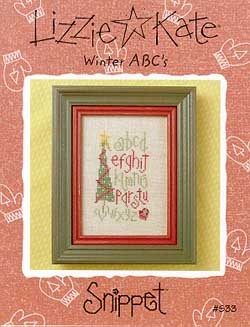 Lizzie*Kate Clearance  Winter ABCs