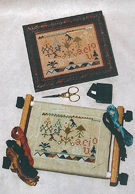 Milady's Needle Clearance1786 Practice Sampler