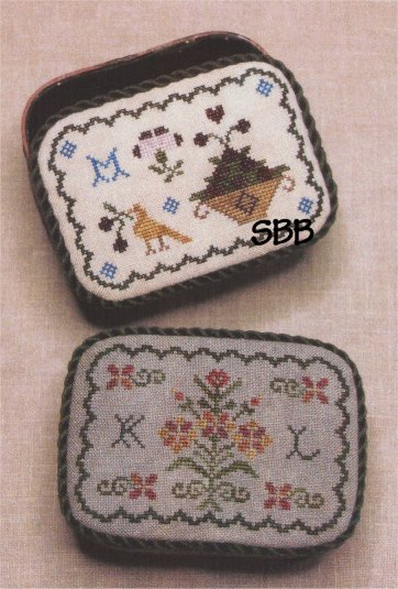 Milady's Needle Clearance Friendship Keepsake Box