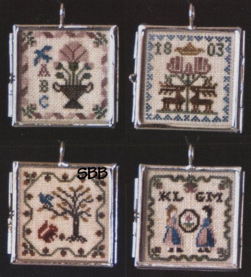 Milady's Needle Clearance Milady's Sampler Pendants II With One Pendant