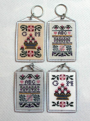Milady's Needle Clearance More Sampler Key Chains