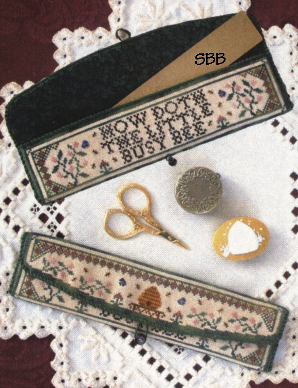 Milady's Needle Clearance My Little Bees Ruler Pocket