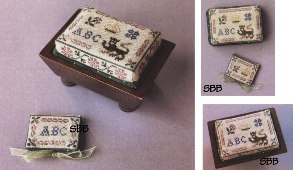 Milady's Needle Clearance Queen Anne's Pin Chest And Needle Book