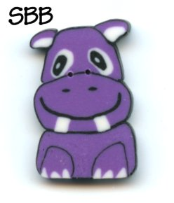 Just Another Button CompanyExclusive Hippo Button