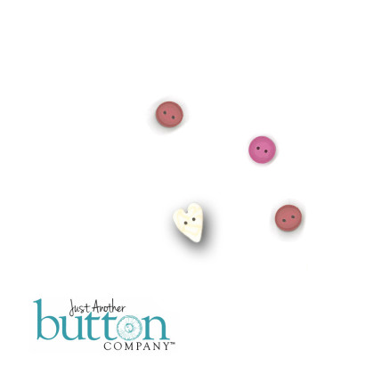 Just Another Button Company 7707 Pink Pearl Kitty