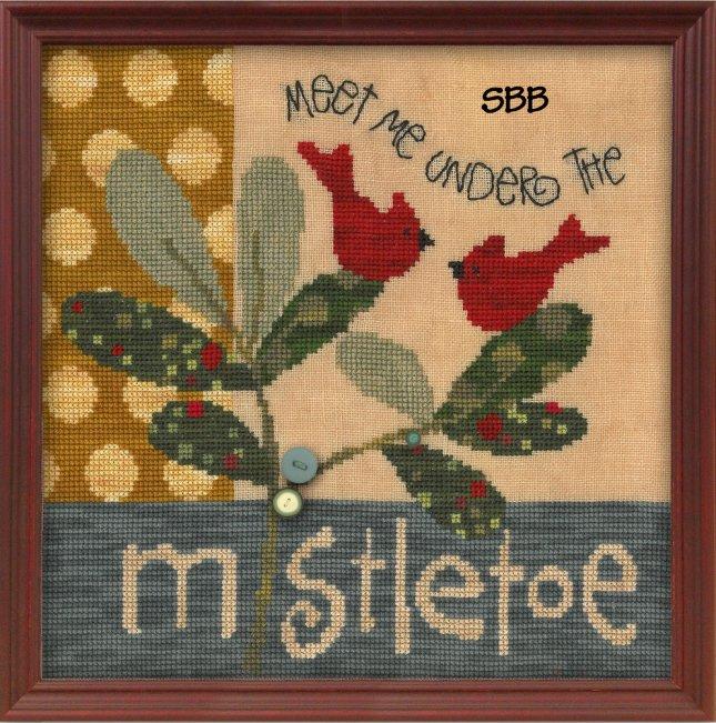 JABCo ATHstitch  ath1016 Meet Me Under The Mistletoe