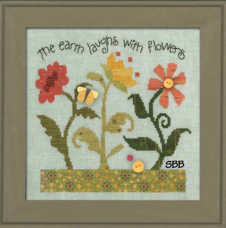 JABCo ATHstitch  ath1023 Laugh With Flowers