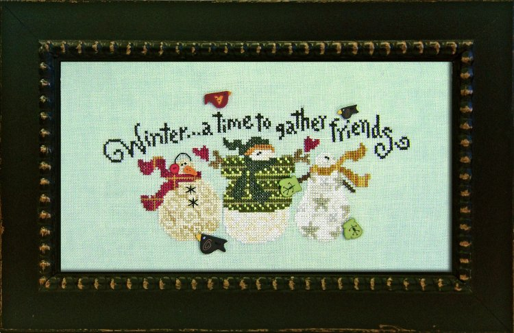 JABCo ATHstitchath1001 Winter Friends