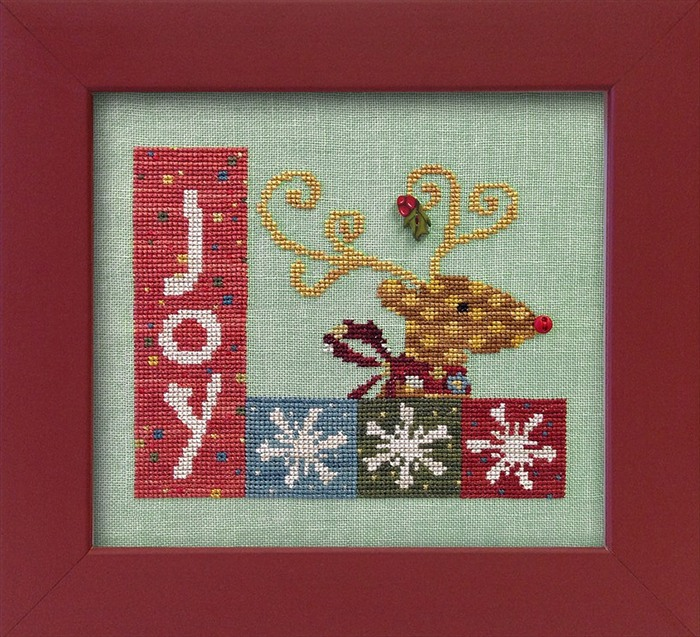 JABCo ATHstitchath1014 Christmas Joy