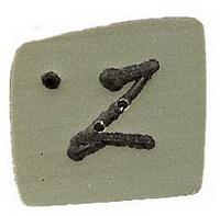 JABCo Alphabets  0300.z Green Letter Z
