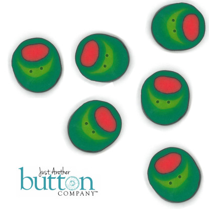 Just Another Button Company 9717 Martina ~ Large Olives