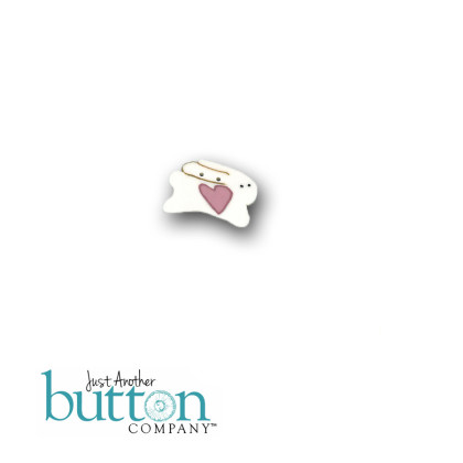 Just Another Button Company 9304 Here Bunny 2