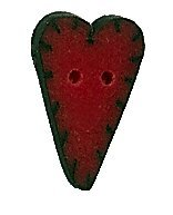 JABCo Applique Collectionap1000.S Small Red Applique Heart