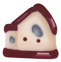 JABCo Art To Heart  nh1005.S Small Red Roof Birdhouse
