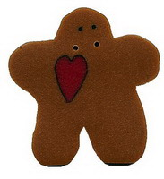 JABCo Art To Heart  nh1020.L Large Gingerbread With Heart