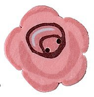 JABCo Art To Heart  nh1031.S Small Rose Cottage Rose