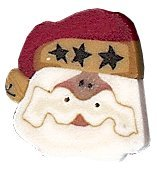 JABCo Art To Heart  nh1043.T Tiny Santa