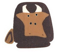 JABCo Art To Heart  nh1053.L Large Cow