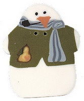 JABCo Art To Heart  nh1098.L Large Piper Snowman