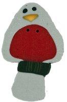 JABCo Art To Heart nh1120.L Large Grey Perching Bird
