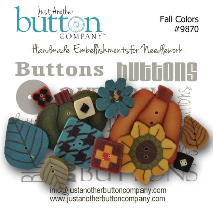 JABCo Button Collections9870 Fall Colors